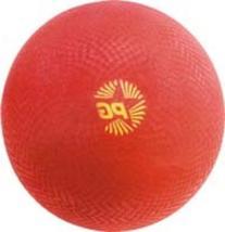 "5"" Red Olympia Playground Balls - Set of 6"