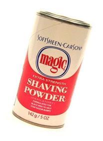 Magic Red Shaving Powder 5.0 oz. Extra Strength Depilatory