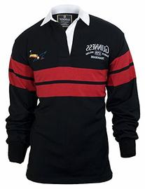 Guinness Black & Red Toucan Rugby,M