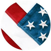 Creative Converting Red, White and True, Value Pack Round