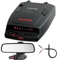 Escort RedLine Dual-Antenna Radar Detector + Car Mirror