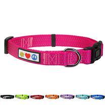 Pawtitas Pet Soft Adjustable Reflective Dog Collar Extra