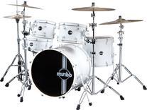 DDrum REFLEXWHTWHT225PC Reflex Uptown 5-piece Drum Set -