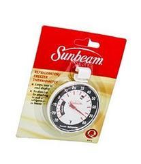 Sunbeam Refrigerator Freezer Thermometer -30° to 80° F