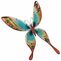 Regal Art & Gift REGAL10185 Blue Butterfly Wall Dicor