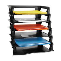 Rubbermaid Regeneration Plastic Letter Tray 6 Pack