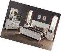 Roundhill Furniture Regitina 016 Bedroom Furniture Set, King