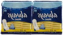 Always Maxi Pads, Regular Protection, 48-Count Packages
