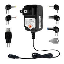 ZOZO 12W 3V 4.5V 5V 6V 7.5V 9V 12V Regulated Multi Voltage
