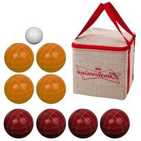Bocce Ball Set- Budweiser Regulation Outdoor Family Bocce