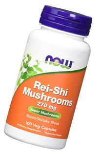 Now Foods Rei-shi Mushrooms 270mg, 100 Vcaps
