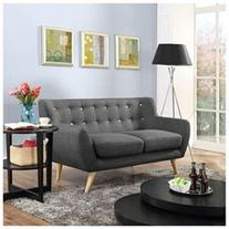 Modway Remark Loveseat In Gray
