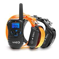 Esky 330 Yards Remote Dog Training Collar Rechargeable E-