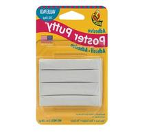 Duck Brand Removable/Reusable Poster Putty, 2-Ounce, White