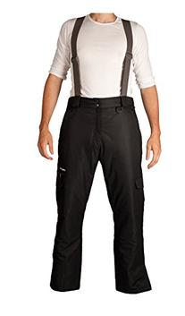 Arctix Men's Removable Suspender Pants, Black, XX-Large
