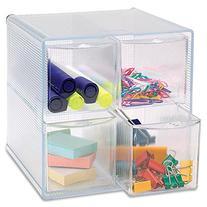 "Sparco Removeable Storage 4 Drawer Organizer 6"" x 6 3/4"" x 6"