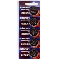 Renata CR2025 Coin Cell Battery, 5 Batteries
