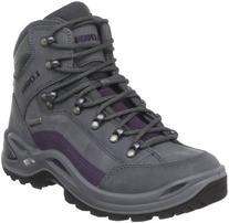 Lowa Women's Renegade GTX Mid Hiking Boot,Prune/Grey,5.5 M