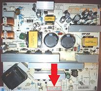 Repair Kit, LG 42LC7D-UB PCB P/N EAX37617801, LCD TV,