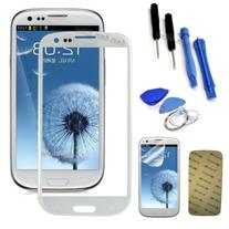 replacement WHITE for samsung galaxy s3 glass lcd touch