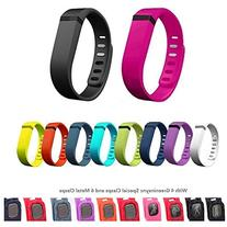 10pcs Replacement Bands with Clasps for Fitbit Flex Only /No