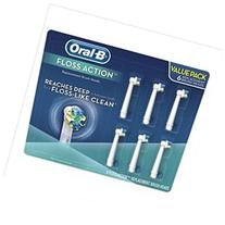 Oral-B Replacement Brush Heads, Floss Action