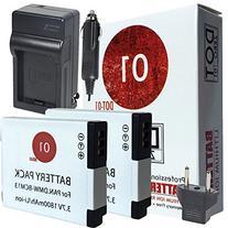 3x DOT-01 Brand 1800 mAh Replacement Panasonic DMW-BCM13