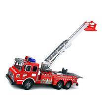 Fire Rescue F0358 Chief Team Friction Powered Toy Fire Truck