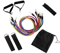 Attmu Resistance Band Set for Fitness Training, Includes 5