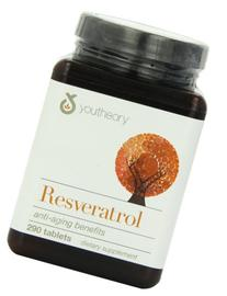 youtheory Resveratrol Anti-Aging Formula, 290 Tablets