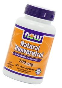 NOW Foods by Now Natural Resveratrol Cardiovascular Support