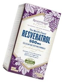 Reserveage Organics, The World's Finest Resveratrol 500 mg
