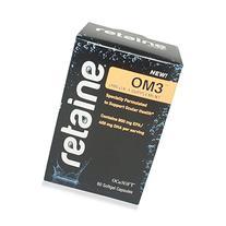 Retaine OM3 Omega 3 Supplement,60 Softgel capsules
