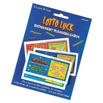 12 ct Retirement Planning Scratch off Lotto Luck Cards - Fun
