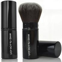 Premium Retractable Kabuki Makeup Brush - Blush Brushes