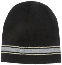 Wigwam Men's Retro Stripe Hat, Black, One Size