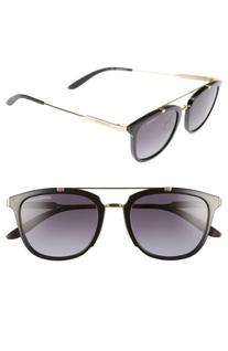Women's Carrera Eyewear 51Mm Retro Sunglasses - Shy Black