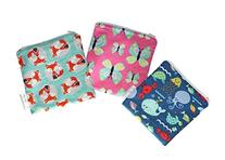 Itzy Ritzy Reusable Snack and Everything Bag-Animals-One