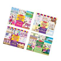 Melissa & Doug Reusable Sticker Pads Set: Fairies, Princess