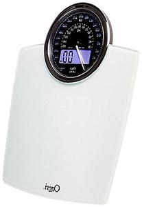 Ozeri ZB19-W Rev Digital Bathroom Scale with Electro-