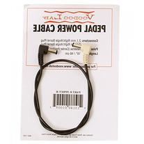 """Voodoo Lab 2.1mm Reverse Polarity Barrel Cable - 18"""" Ang Rev"""