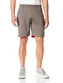 Life Fitness Apparel Reversible Mesh Shorts, Large, Dark
