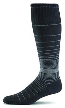 Sockwell Women's Revolution Socks, Black, Medium/Large
