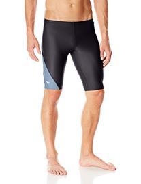 Speedo Men's PowerFLEX Eco Revolve Splice Jammer Swimsuit,