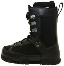 Celsius Men's Rexford-Trad Lace Snowboard Boot, Black, Size-