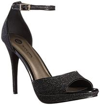 Michael Antonio Women's Rhys Dress Sandal, Black, 11 M US