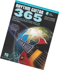 Rhythm Guitar 365: Daily Exercises for Developing, Improving