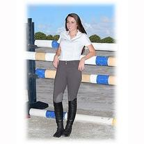 TuffRider Ladies Ribb Knee Patch Riding Breeches
