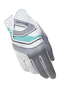 TaylorMade Ladies Ribbon Glove-Left Hand-Turquoise/White-