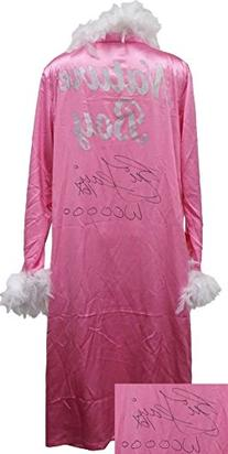 Nature Boy Ric Flair Signed Pink Feathered Wrestling Robe